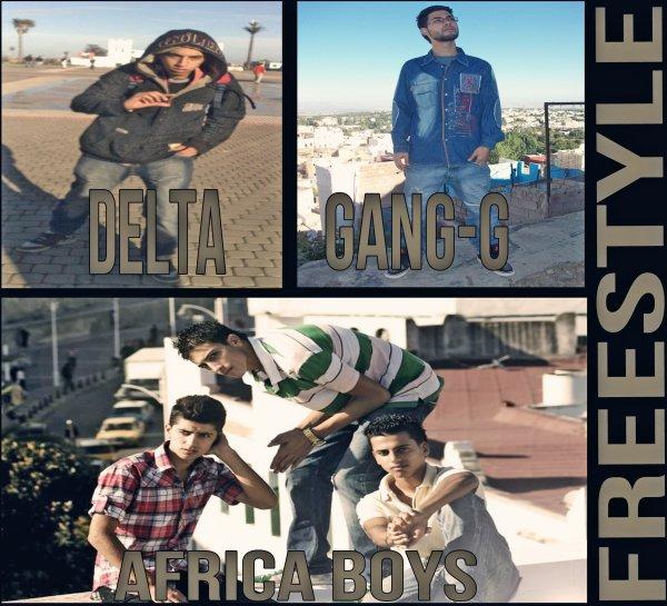 Under-Flow A.K.A Africa Boys Ft. Gang-G & Delta (Rap 3andna Blya)