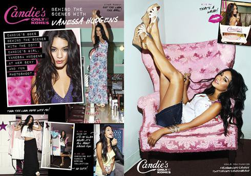 26.02.2011                                         Vanessa Hudgens & Candies