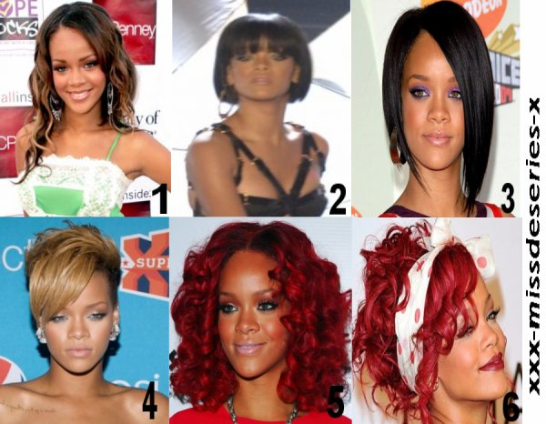 11.08.2011                         Salon de coiffures version Rihanna