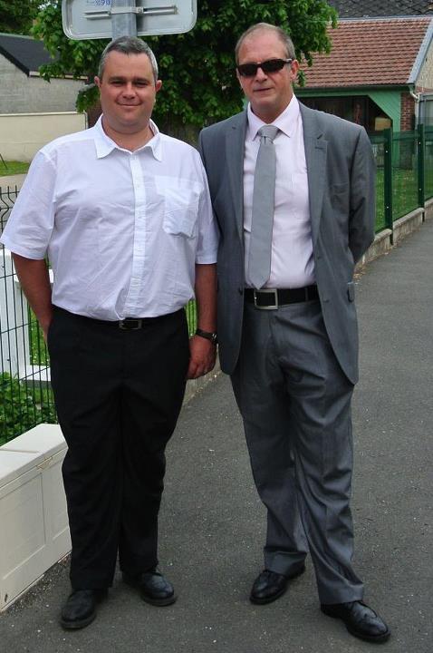 Voici une des photos de cet été 2012…. Nous étions de baptême …..