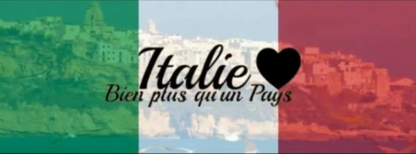 Italie dans le sang, fière d'etre italienne. J'ai le sang latino & la fièrter du maillot.♥