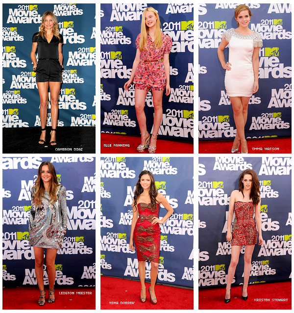 -- ______   ★  MTV Movie Award à Los Angeles ; 05/06/11 Les tenues des stars.  --