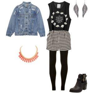 Ma tenue pour le concour de mode de Le-blog-de-Doudou ! [N°3]