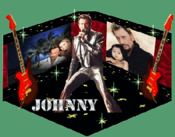 Hommage à Johnny Hallyday la légende