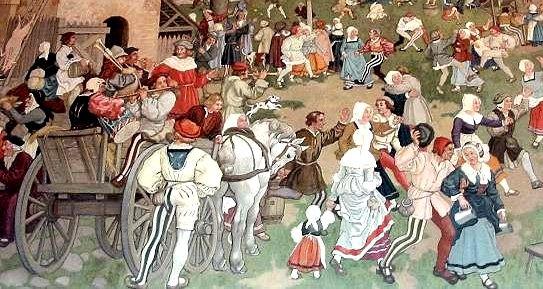 Vie quotidienne au Moyen Âge.