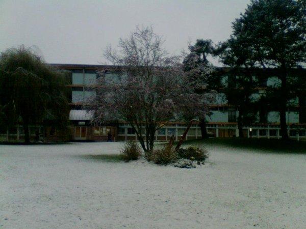 Et encore une ^^ C'est mon lycée ! Sous la neige !