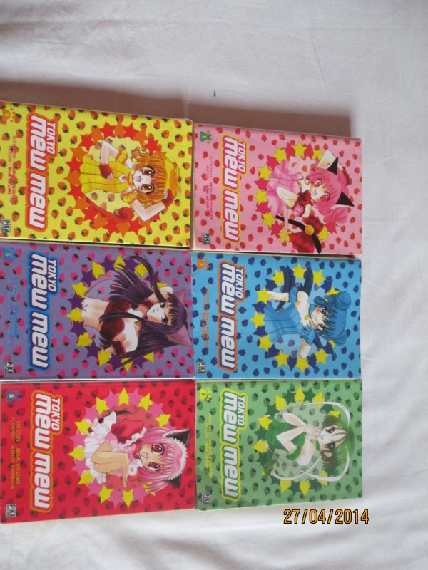 Tokyo Mew Mew 1,2,3,4,5,6