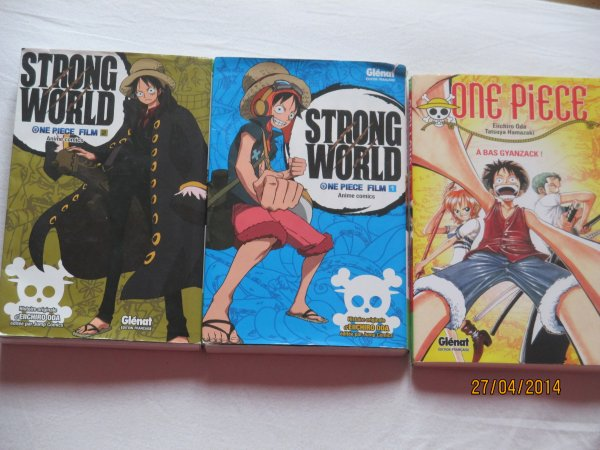 One piece:<<A bas Gyanzack>>, Strong World film partie 1 et 2
