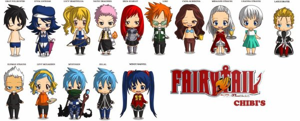 Chibi maker de Fairy tail