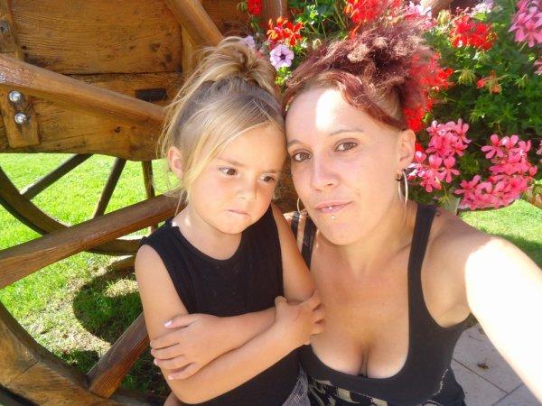 moi et ma filleule que j aime temp