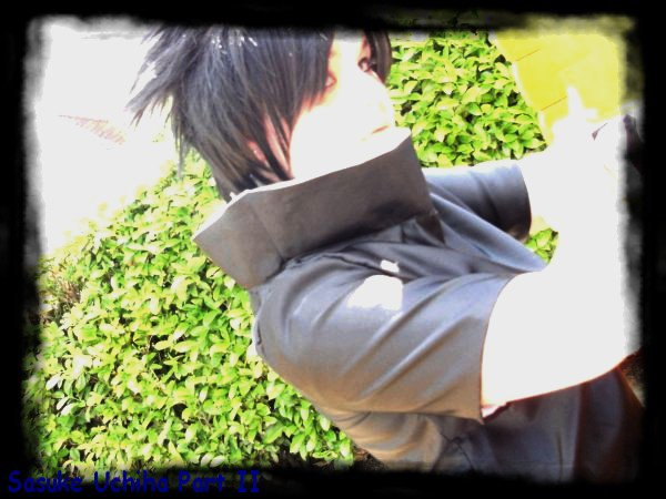Cosplay de Sasuke Uchiha Part II