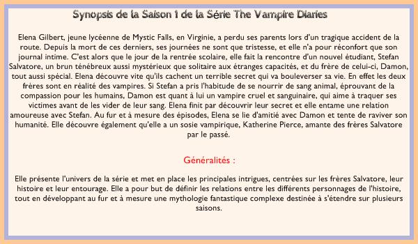 The Vampire Diaries - Saison 1..............................................................................Création - Décoration