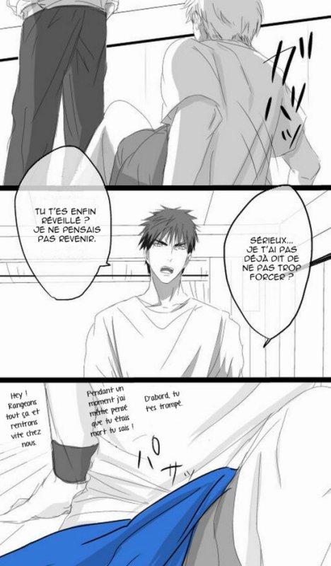 His light is Kuroko no basket