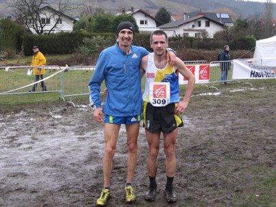 Championnat d'Alsace de Cross 2011- Les seconds seront les premiers.