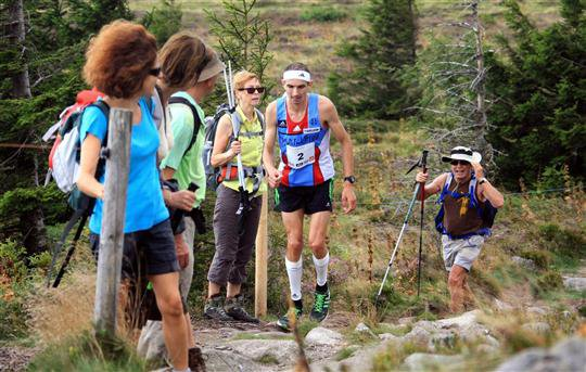 Journal L'ALSACE: Athlétisme Samir Baala remporte les Crêtes Vosgiennes
