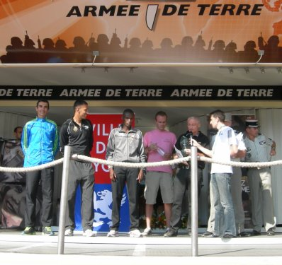 RUN IN LYON 2011: Podium