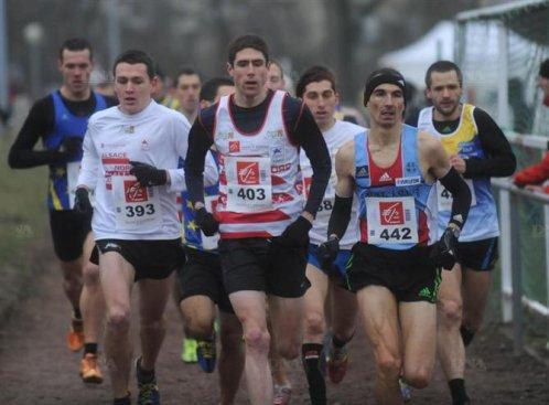 Championnat d'Alsace de cross 2012 Haguenau: Chut !!! Taisez-vous (c'est pas grave une p'tite chute)