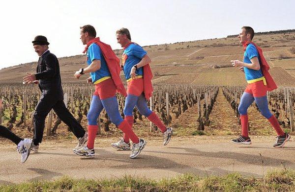 10Km & Semi marathon de la 51ème vente des vins des Hospices de Nuits St Georges.