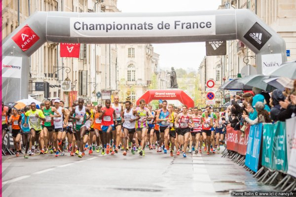 Championnat de France de semi-marathon Nancy 2012: Si c'est Nancy, j'y vais aussi!
