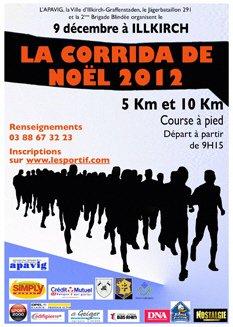 17eme CORRIDA DE NOEL D' ILLKIRCH : UNE CORRIDA VERGLAGLA