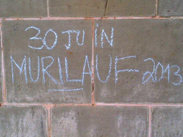 31. Murilauf: JOUR DE COURSE