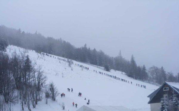 Trail Blanc des Vosges à Rouge Gazon: Il a neigé dans mon calepin