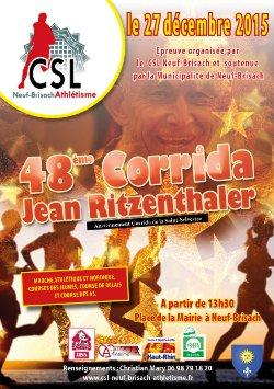 48e Corrida Jean Ritzenthaler à Neuf-Brisach: TROIS CORRIDAS SINON NADA