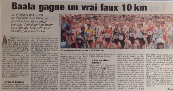 1e édition semi-marathon de Mulhouse: POTION D'AVRIL