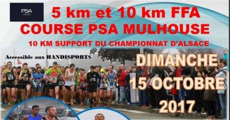 10Km des Courses PSA Mulhouse: DE MULHOUSE À MULHOUSE