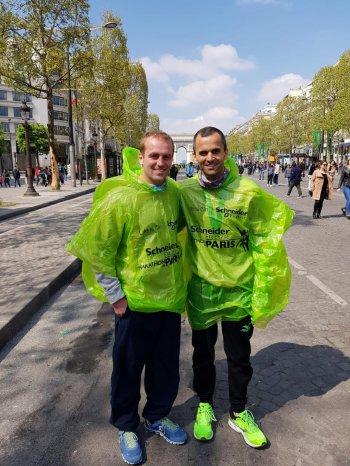 Marathon DE PARIS: Récit de MARC J.