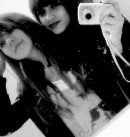 Celle à qui j'ai confié ma vie, ma meilleure amie .