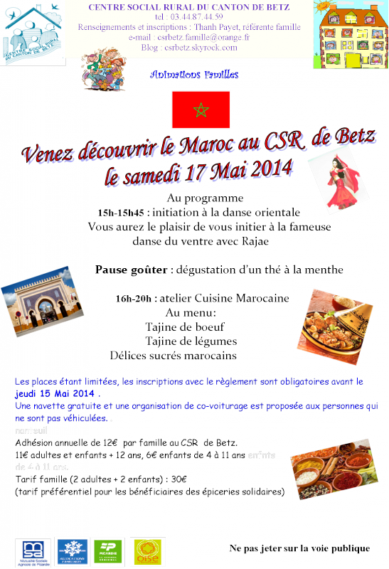 Actions Collectives Familles 2014