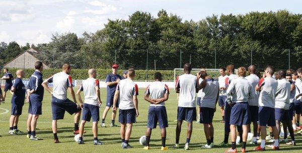 Préparation pour le match face à Montpellier : Du 5.08.12 au 9.08.12