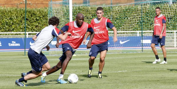 Préparation pour le match face à Ajaccio : Du 12.08.12 au 18.08.12