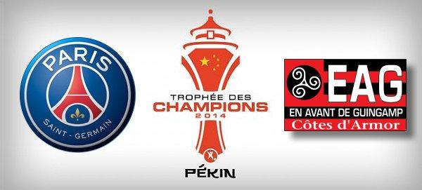 Les compositions du Trophée des Champions !
