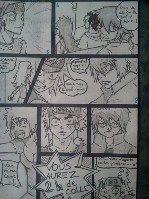 petit manga pour les cours ! :p