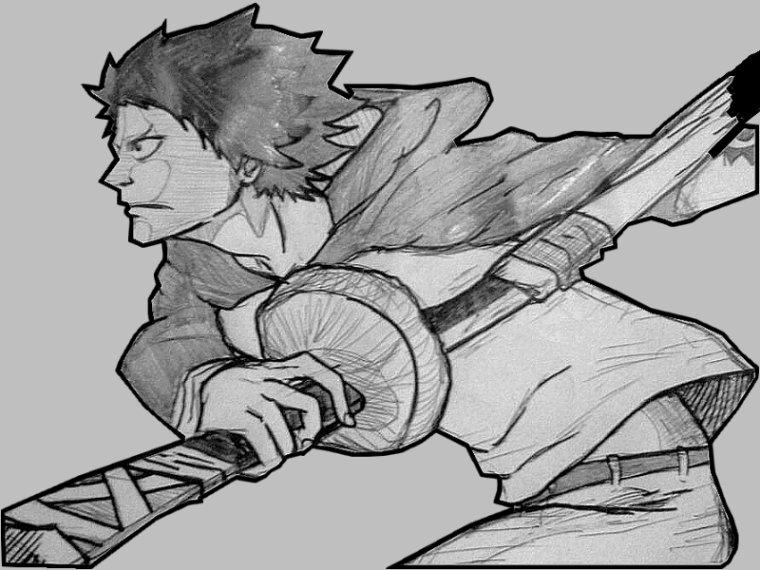 Personnage pour un manga en cours :) ...