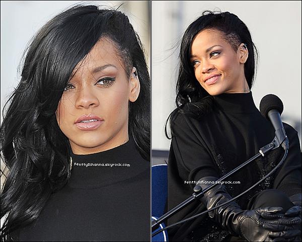 . 2/04/12 : Notre belle Rihanna Robyn Fenty était à une conférence de presse pour Battleship au Japon. De plus , rien n'est encore sûr , mais elle devrait être interwiewé le 11 avril pour NRJ. Nous attendons Jeudi pour plus d'informations.  .