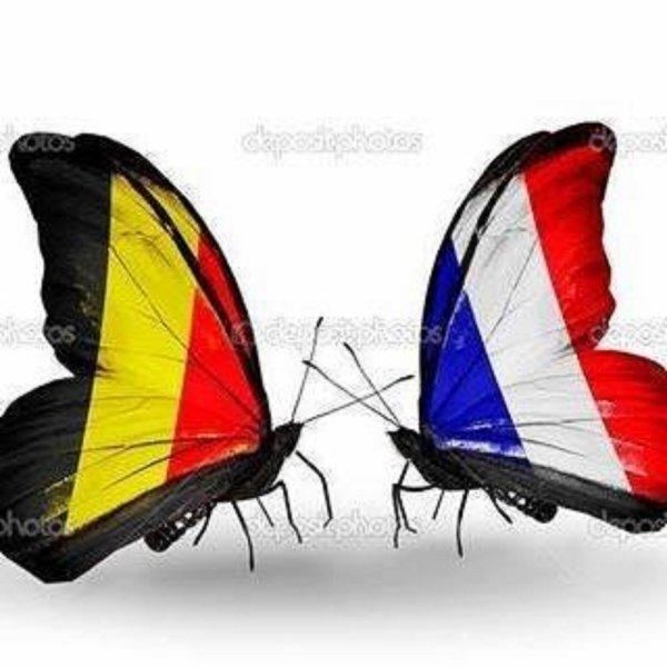 De tout c½ur avec mes amis belges et tout le peuple belge que l'on...