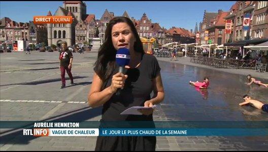 C'est dans la région de Tournai qu'il fera le plus chaud ce jeudi