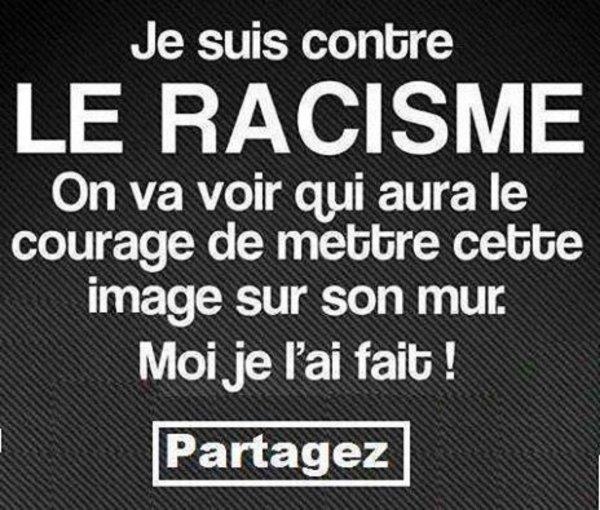 Fais tourner si tu as un c½ur: je suis contre le racisme a faire suivre svp merci
