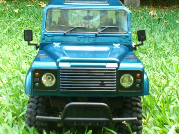 Mon land rover defender 90