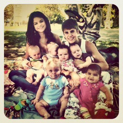 Photos Instagram de Justin et Selena