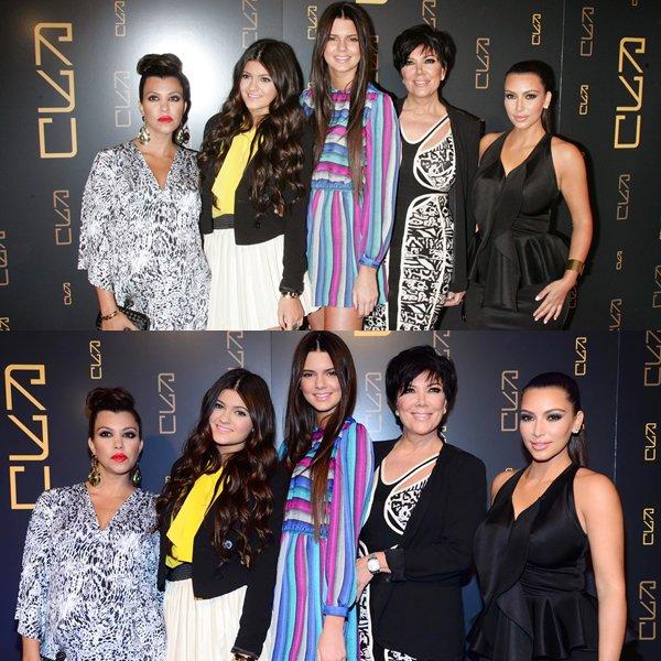 Sortie de Kim Kardashian -Grand Oppening de RYU