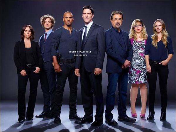 - ESPRITS CRIMINELS_Découvrez de nouveaux photoshoot de Jennifer avec le Cast  -