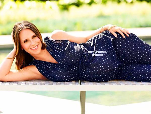 - Découvrez notre belle Jennifer en couverture pour le magazine « American Baby »   -