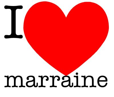MA MARRAINE