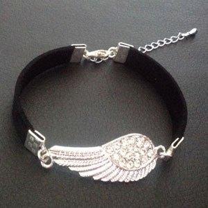 Bracelet ultra chic signe infini strass de verre bijou mode collection Ruthène