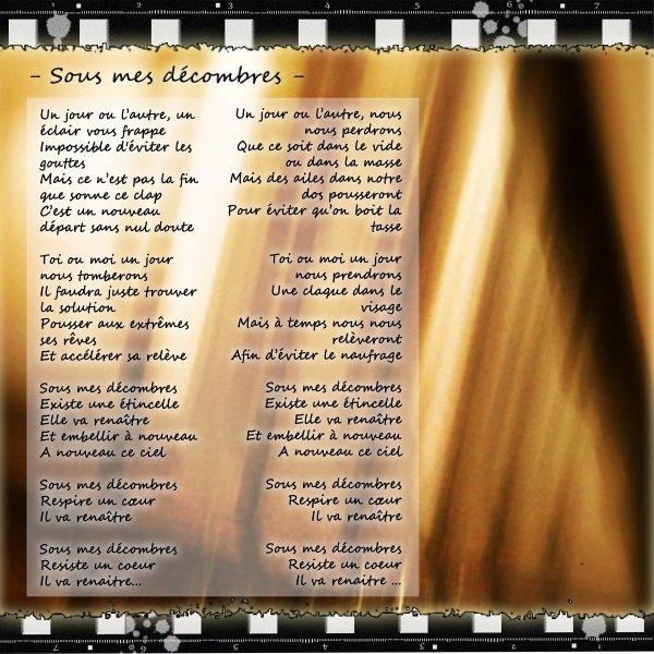 EP Ton Cinéma / Sous mes Décombres (2013)