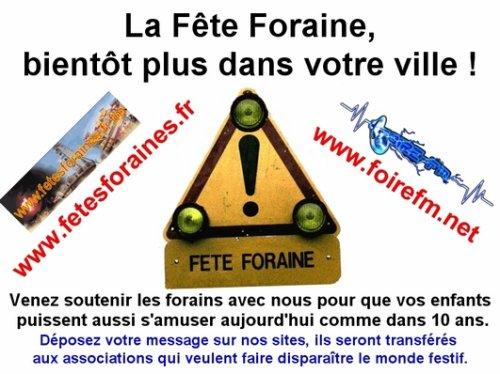 venez soutenir les forains de france !!